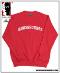 뱅크투브라더스(BANK2BROTHERS) 2016 BTB HEAVY SWEAT SHIRTS (RED)