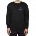 허프(HUF) [허프] TRIPLE TRIANGLE CREWNECK BLACK FLBSC04