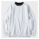 스투시() [스투시] JACQUARD FLEECE CREW WHITE 118149