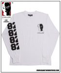 뱅크투브라더스(BANK2BROTHERS) CHILLER LONG SLEEVES (WHITE)