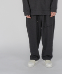 로우 투 로우(RAW TO RAW) monk sweat jersey pants(charcoal)
