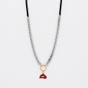 마이믹스드디자인(MY MIXED DESIGN) L chamude lip chain chocker