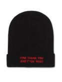 에픽소드(EPICSODE) 2WAY THANK YOU BEANIE(BLACK)