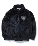 엑스톤즈(XTONZ) [XTONZ] XJ2 PATCH FUR JACKET - (BLACK)