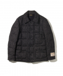 BROWNS BEACH / DOWN COVERALL / BLACK