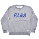 QMILE_1617 PLS CREWNECK_GRAY
