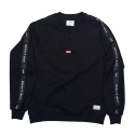 큐마일(QMILE) QMILE_1617 QUALITY MILE CREWNECK_BLACK