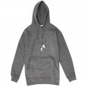 허프(HUF) SNOOPY BOX LOGO PULLOVER HOOD (GREY HEATHER) [PF64011-GYHT]