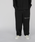 로우 투 로우(RAW TO RAW) monk sweat jersey pants(black)
