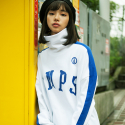 본챔스(BORN CHAMPS) CMPS HIGH NECK SWEATSHIRT_CEPDMMT01
