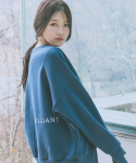 comfort SWEATSHIRT (navy blue - 양기모)
