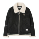 SP ROLLO SHEARLING JKT-BLACK