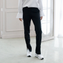 블락(BLAK) SLIM TAPERED LONG PANTS (BLACK)