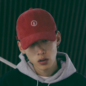 본챔스(BORN CHAMPS) BC 08 CORDUROY CAP RED CEPFMCA13RE