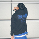 본챔스(BORN CHAMPS) B BLUE HOOD BLACK CEPCMHD80BK