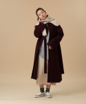 Cinta Wool Jersey Coat