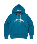 문수권세컨(MSKN2ND) RENAISSANCE HOODY TEAL BLUE