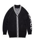 문수권세컨(MSKN2ND) SHAWL COLLAR CARDIGAN BLACK