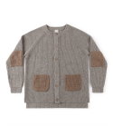 어나더 오피스() Current Kilcarra cardigan (Sand)