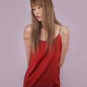 Holy Slip Dress - Holy Red