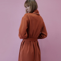 멜트(MELT) Classic Robe - Orange Brown