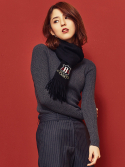 블랭크(BLANK) WOOL TURTLENECK-GY