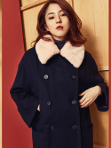블랭크(BLANK) CLOUD DOUBLE COAT-NV
