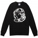 STATIC CREWNECK (BLACK/WHITE) [861-8313-BLK]
