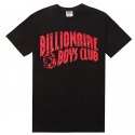 ARCH LOGO TEE (BLACK/RED) [861-8201-BLK]