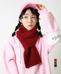 어메이드(AMADE) Amade Basic Muffler Deep Red