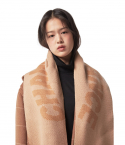 챈스챈스(CHANCECHANCE) Knit muffler(Beige)
