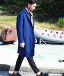 레브드앙뉴() OVERSIZE WOOL COAT(BL)