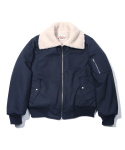 러기드하우스(RUGGED HOUSE) REVERSIBLE SHEEP JACKET 네이비