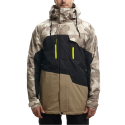 686(686) 16FW AUTHENTIC GEO INSULATED JACKET KHAKI CAMO CLRBLK