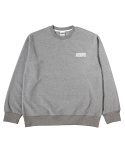 그라스하퍼(GRASSHOPPER) FLEECE SWEATSHIRT_GRAY