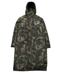 그라스하퍼() LOGO BENCH COAT_CAMO