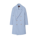 에센시(ESSENSI) [ESSENSI] LOOSE FIT DOUBLE BREASTED COAT (ES1GWUC810C)