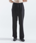 인디고칠드런() EASY WIDE RING PANTS [BLACK]