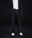 인디고칠드런() TWO PLEATED WIDE PANTS [BLACK]