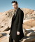 SHOWN WOOL COAT-BLACK
