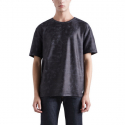 스톤페더(STONEFEATHER) [STONEFEATHER] Foil printed short sleeve t-shirt_FNTCW16001NYX