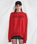 미니캡슐(MINI CAPSULE) Campaign sweat shirt (red)