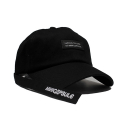 미니캡슐(MINI CAPSULE) Basic logo cap (Black)