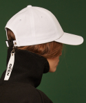 [unisex] Tail buckle cap (white)