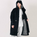블랙맘바() HAMMER BENCH COAT-black