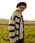 RC STRIPE KNIT ZIP-UP