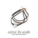 오뜨르 뒤 몽드(AUTOUR DU MONDE) GOLD LAYERED SET CHOKER