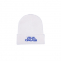 엔조 블루스(ENZO BLUES) VISUAL ORGASM EMBROIDERY BEANIE (White)