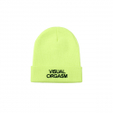 엔조 블루스(ENZO BLUES) VISUAL ORGASM EMBROIDERY BEANIE (Neon)