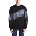 스톤페더(STONEFEATHER) [STONEFEATHER] Round Brush Sweatshirt_FNTBM16022BKX